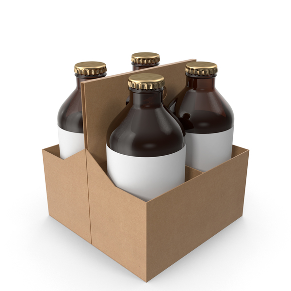Bottle Holder with beer PNG & PSD Images