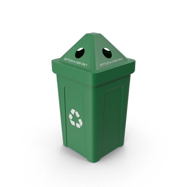 Bottle Recycling Bin PNG & PSD Images