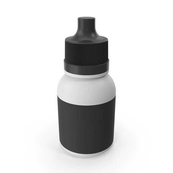 Bottle with Dropper PNG & PSD Images