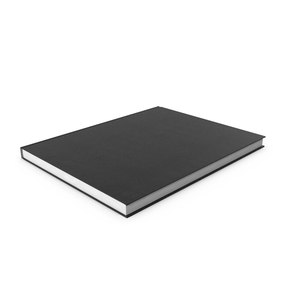 Notebook: Bound Sketchbook PNG & PSD Images