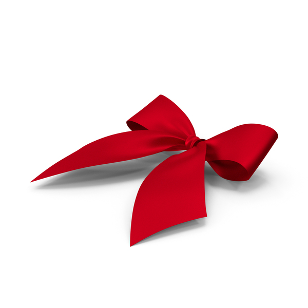Bow Red Down PNG & PSD Images