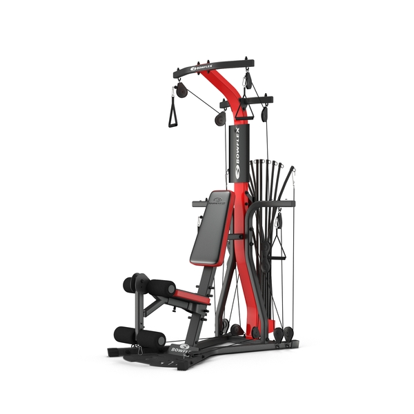 Weightlifting Machine: Bowflex Gym Object