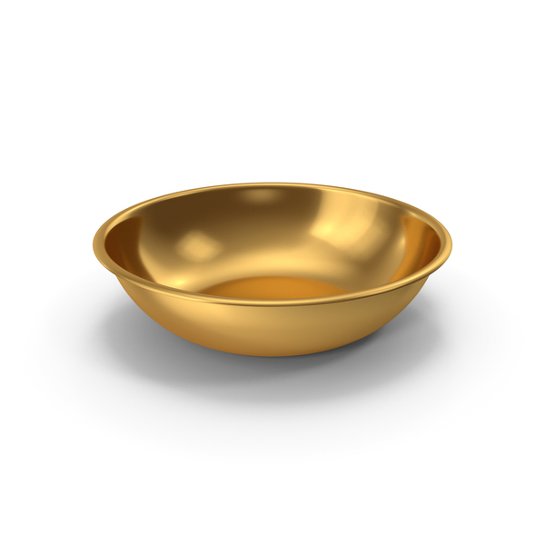 Bowl Gold PNG & PSD Images