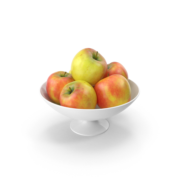 Apple: Bowl of Apples PNG & PSD Images