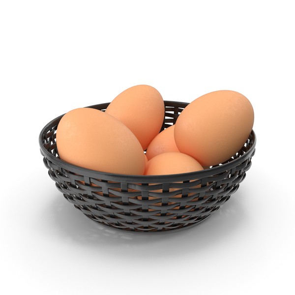 Bowl Of Brown Eggs PNG & PSD Images