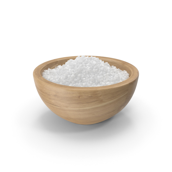 Bowl of Coarse Salt PNG & PSD Images