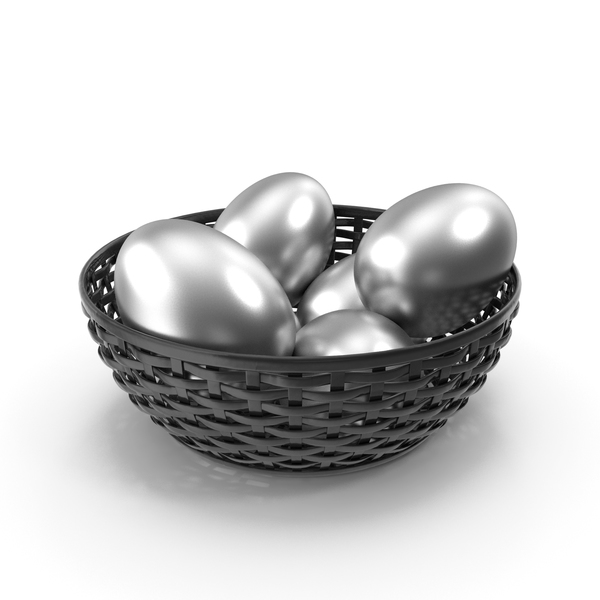 Egg: Bowl of Eggs Silver PNG & PSD Images
