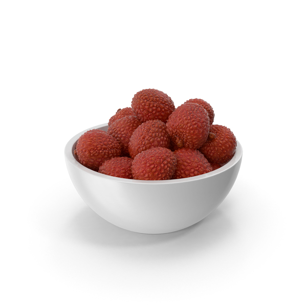Bowl of Lychees PNG & PSD Images