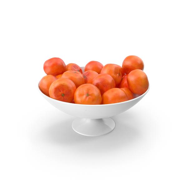 Bowl of Mandarins PNG & PSD Images