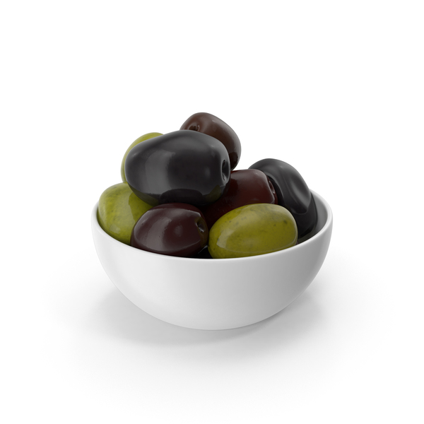 Bowl Of Olives Mixed PNG & PSD Images