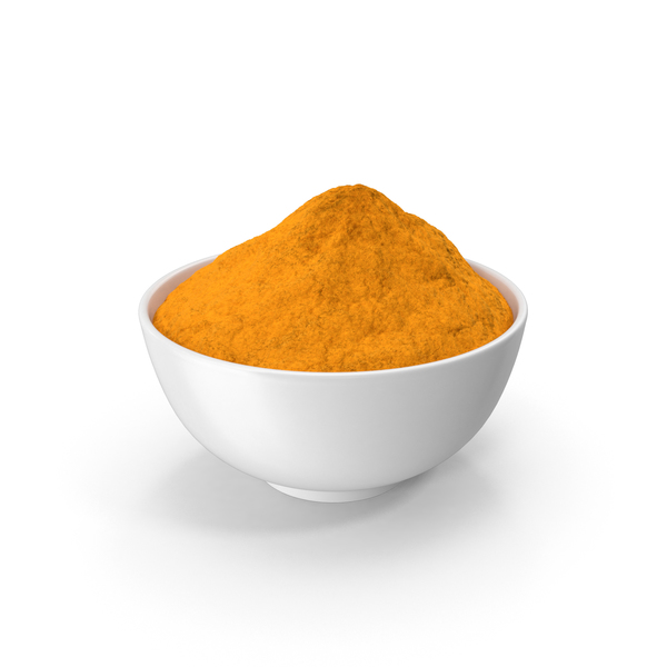 Bowl of  Turmeric PNG & PSD Images