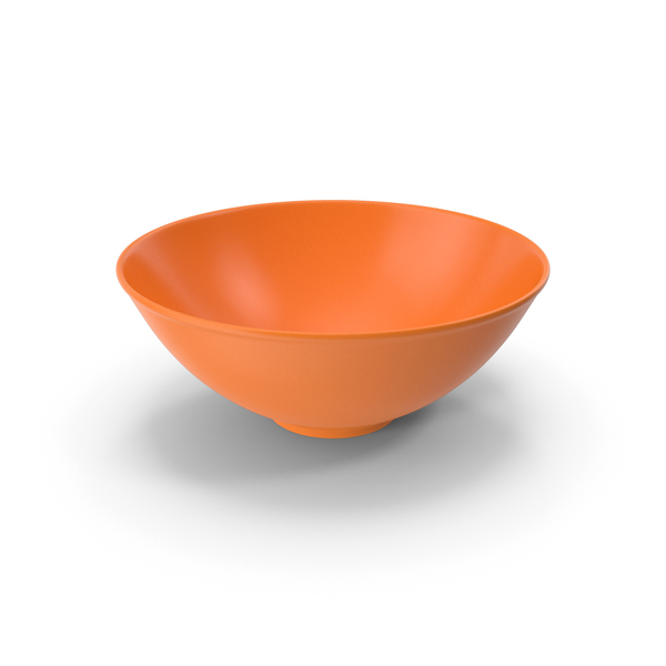 Glass: Bowl Orange PNG & PSD Images