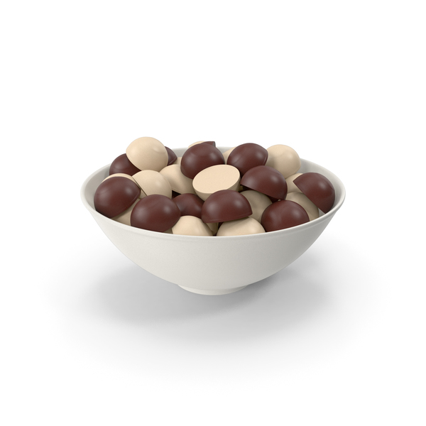 Bowl With Chocolate PNG & PSD Images