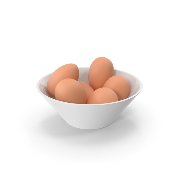 Bowl with Eggs PNG & PSD Images