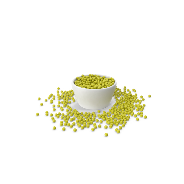 Bowl With Green Peas PNG & PSD Images