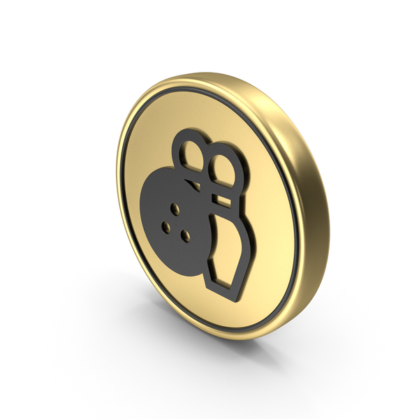 Bowling Game Coin Logo Icon PNG & PSD Images