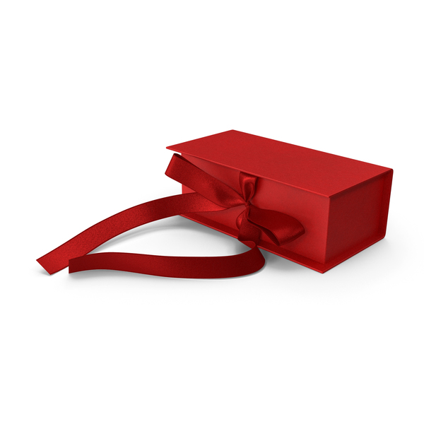 Box Bow Red PNG & PSD Images