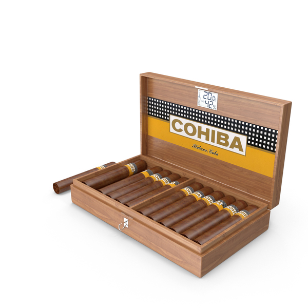 Box of Cohiba Cigars PNG & PSD Images