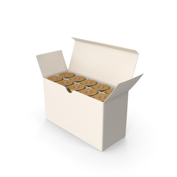 Box Of Shotgun Cartridge PNG & PSD Images