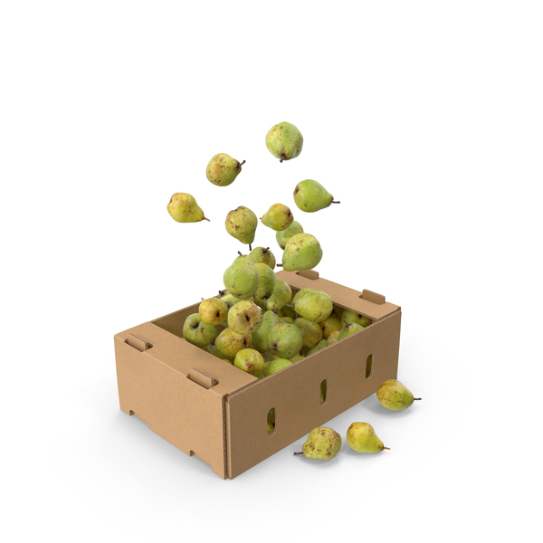 Pear: Box of Taylor's Gold Pears PNG & PSD Images
