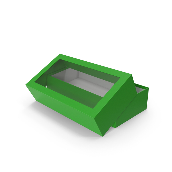 Box Opened Green PNG & PSD Images