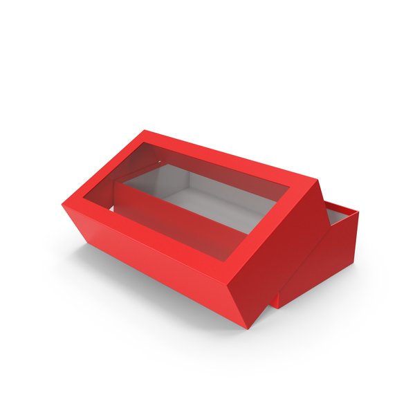 Box Opened Red PNG & PSD Images