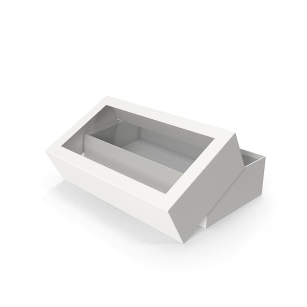 Box Opened White PNG & PSD Images