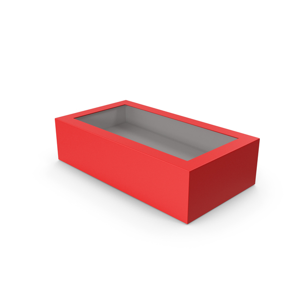 Box Red PNG & PSD Images