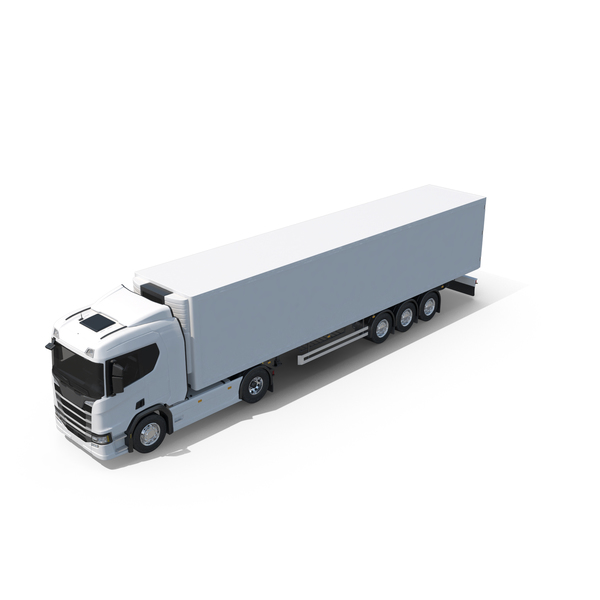 Box Trailer Truck PNG & PSD Images