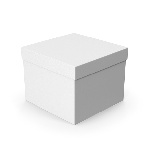 Box White PNG & PSD Images