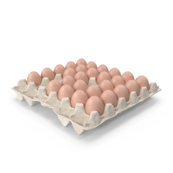 Box with Eggs PNG & PSD Images