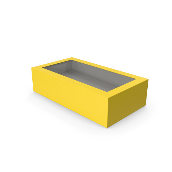 Box Yellow PNG & PSD Images