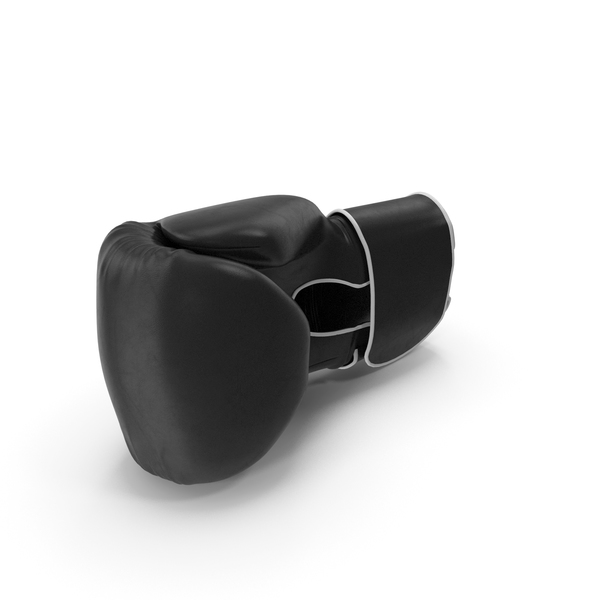 Boxing Glove Black PNG & PSD Images