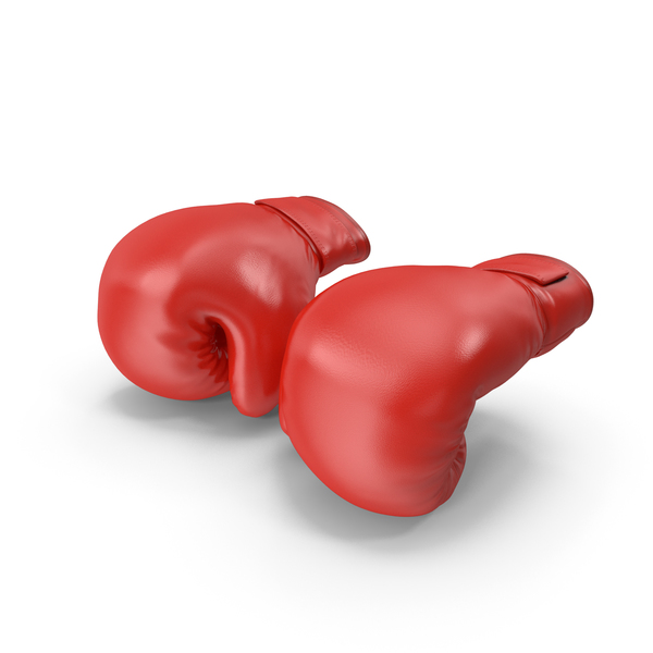 Boxing Gloves Fighting Pose PNG & PSD Images