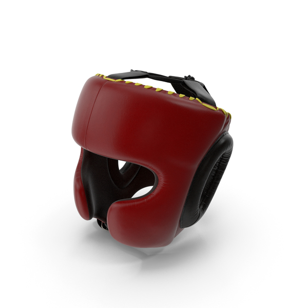 Boxing Training Helmet Red Generic PNG & PSD Images
