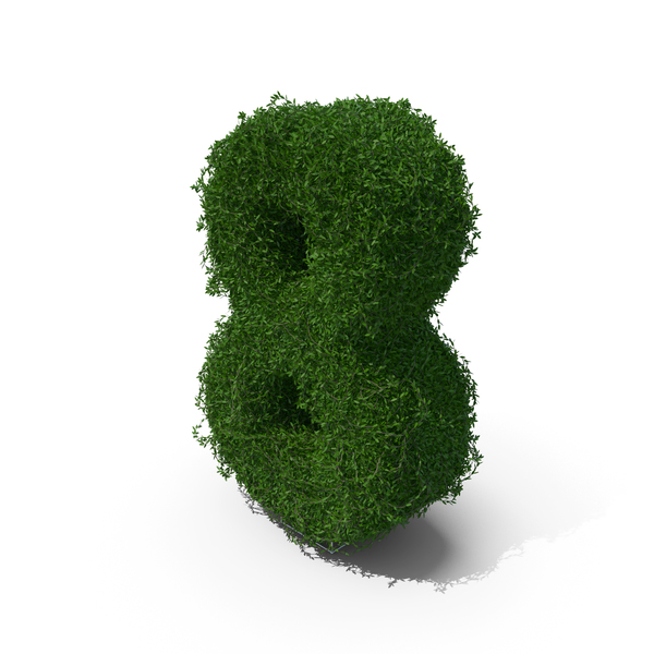 Number: Boxwood 8 PNG & PSD Images