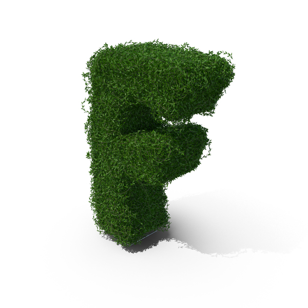 Boxwood Symbol F PNG & PSD Images