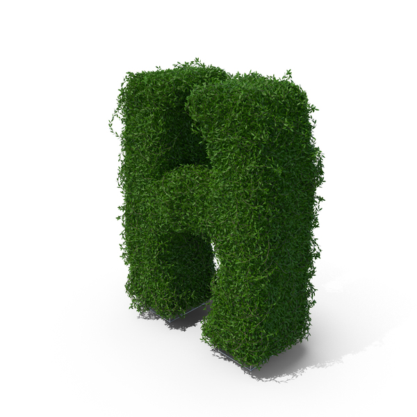 Topiary: Boxwood Symbol H PNG & PSD Images