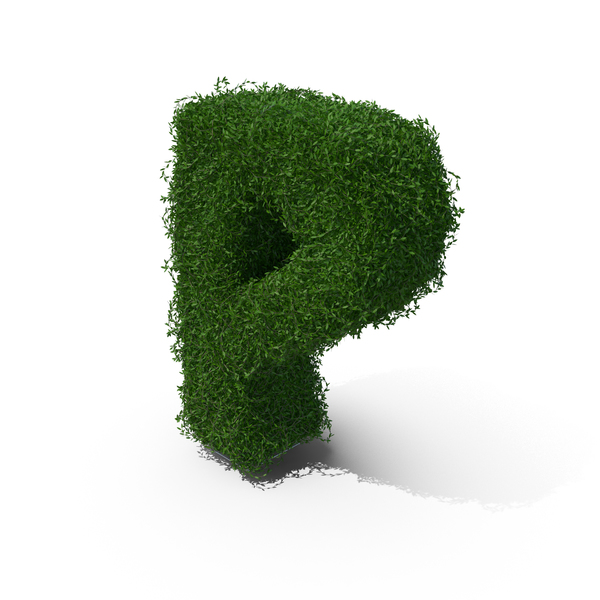 Topiary: Boxwood Symbol P PNG & PSD Images