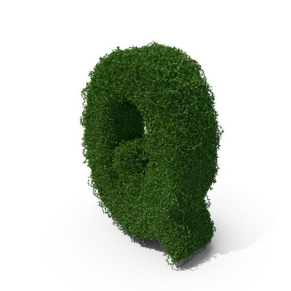 Topiary: Boxwood Symbol Q PNG & PSD Images
