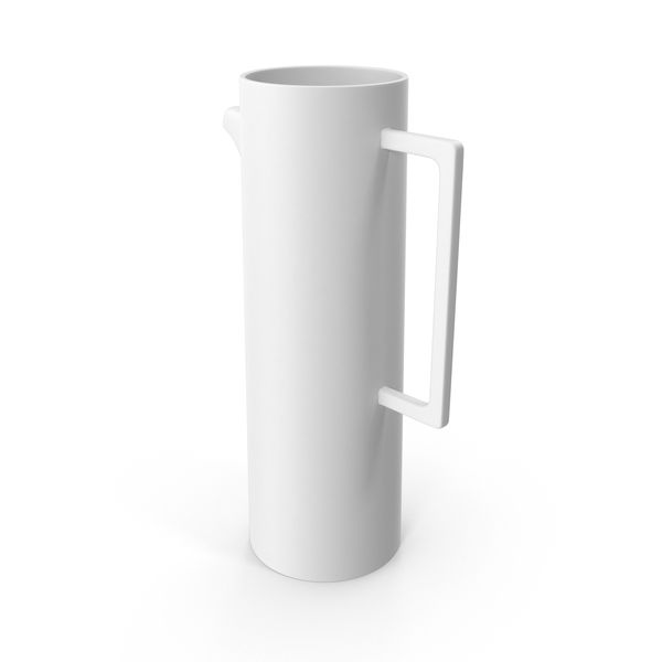 Brace White Pitcher PNG & PSD Images