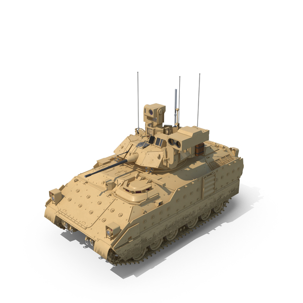 Bradley M2A3 Tank PNG & PSD Images