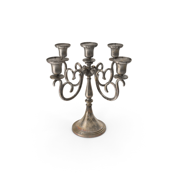 Branched Candlestick PNG & PSD Images