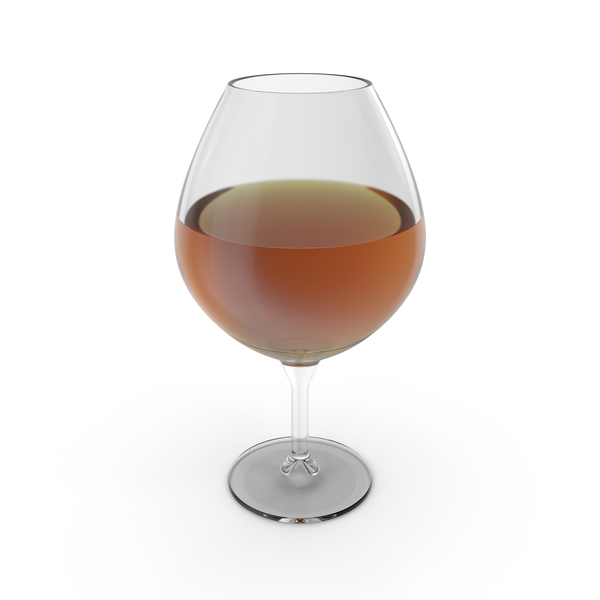 Brandy Snifter with Sherry PNG & PSD Images