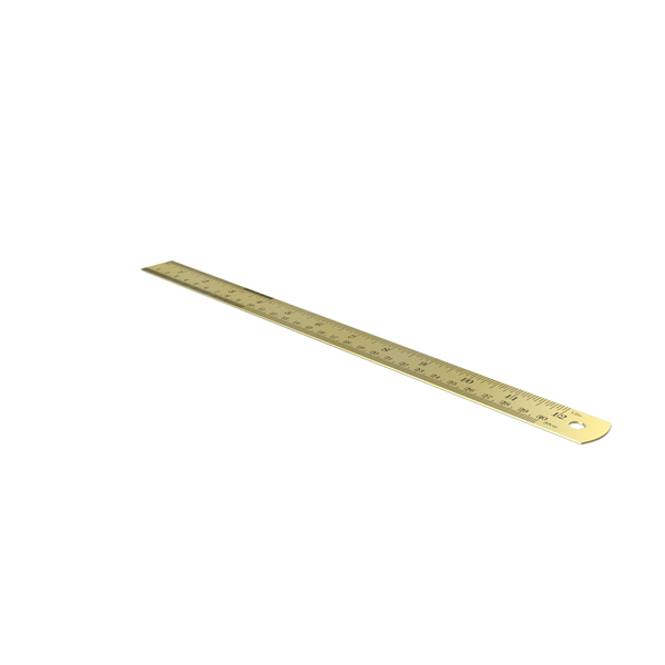 Brass Ruler PNG & PSD Images