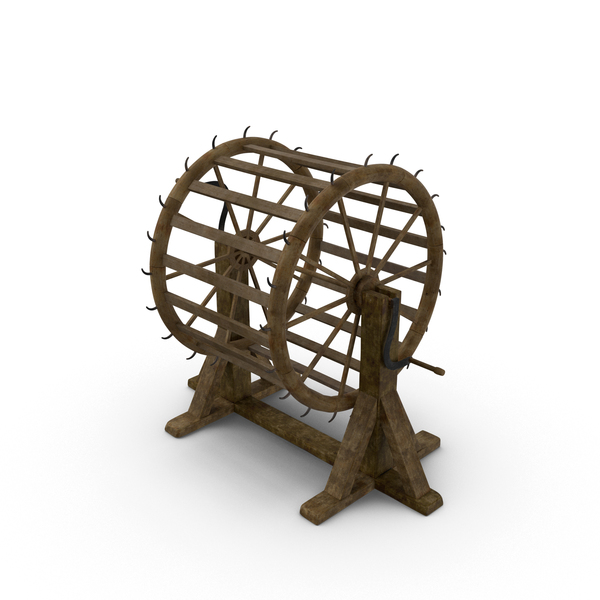 Torture Device: Breaking Wheel PNG & PSD Images