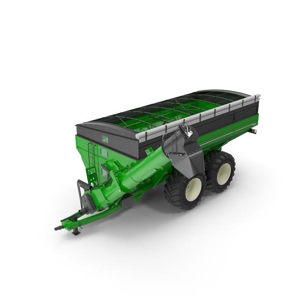 Brent 1596 Dual Auger Grain Cart PNG & PSD Images
