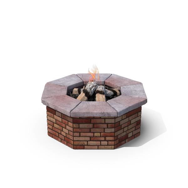Brick Fire Pit PNG & PSD Images