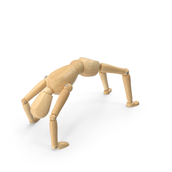 Bridge Pose Mannequin PNG & PSD Images