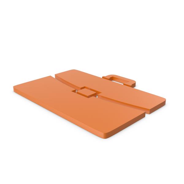Logo: Briefcase Orange Icon PNG & PSD Images
